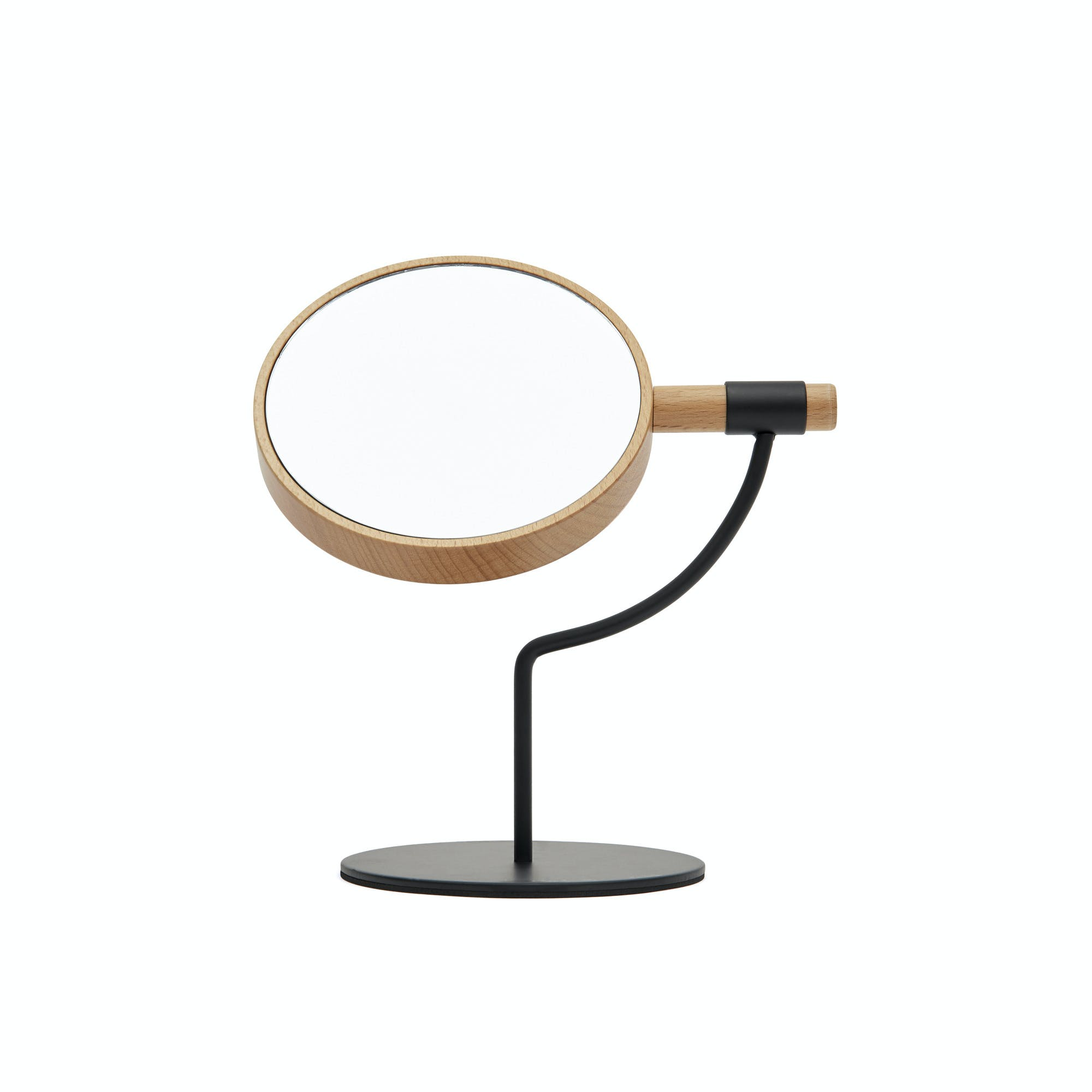 Moda table mirror (Carbon)