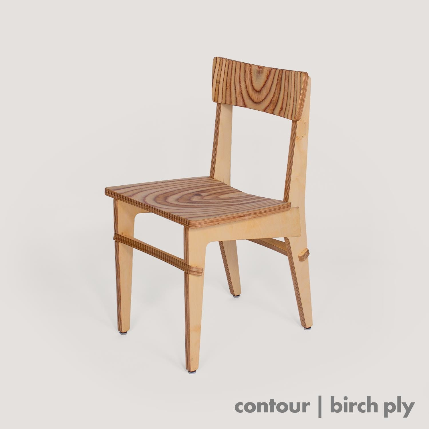 Contour Chair - birch ply